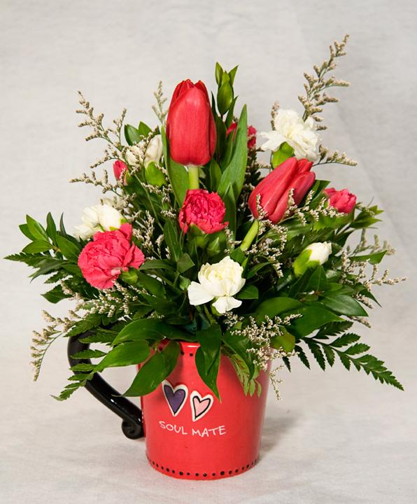 Valentines Day Flower Arrangements Your Cannon Beach Oregon